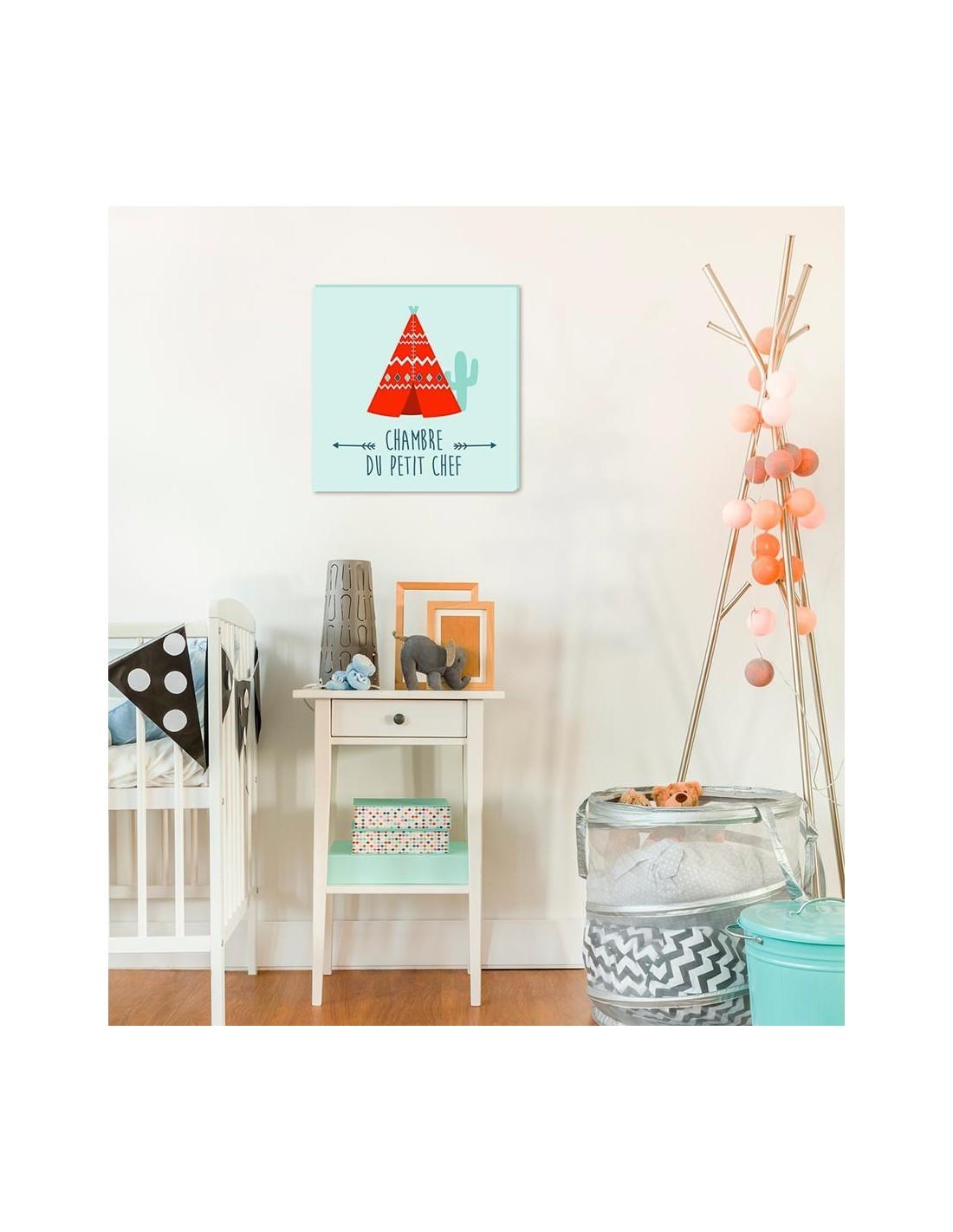 tableau chambre du petit chef. Black Bedroom Furniture Sets. Home Design Ideas
