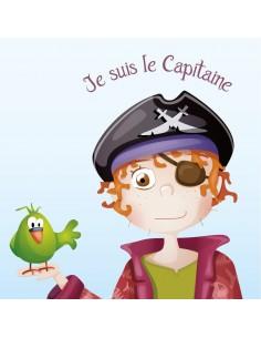 Tableaux Décoratifs,Tableau Pirate: Barbe Rousse