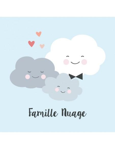 Tableaux Décoratifs,Tableau Déco: Famille Nuage