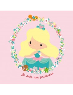 Tableaux Décoratifs,Tableau enfant: Je suis une Princesse