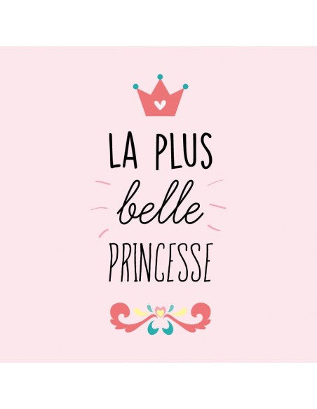 Tableaux Décoratifs,Tableau fille: La Plus Belle Princesse