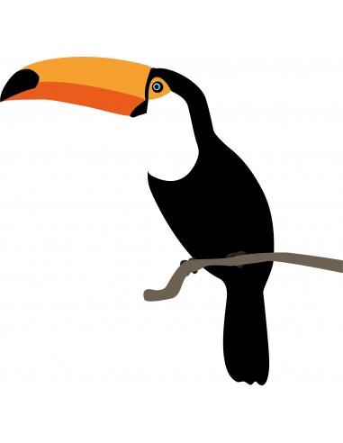 Stickers Jungle & Savane,Stickers Jungle: Toucan