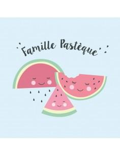Tableaux Décoratifs,Tableau Déco: Famille Pastèque