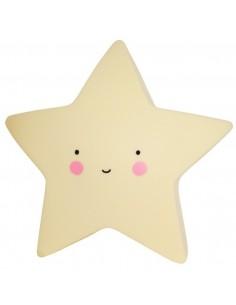 Veilleuses,Veilleuse étoile jaune