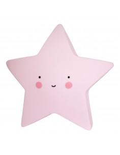 Veilleuses,Veilleuse étoile rose