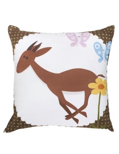 Poufs & Coussins,Coussin Gazelle de la Savane