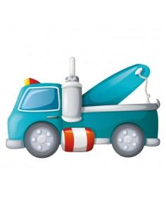Stickers Voiture & Transports,Sticker enfant: Dépanneuse