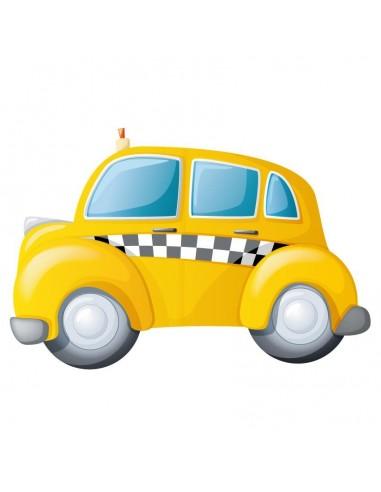 Stickers Voiture & Transports,Sticker mural: Taxi Américain