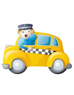 Stickers Voiture & Transports,Sticker Transport: Taxi &