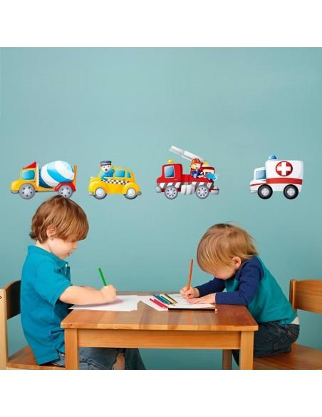 Stickers Voiture & Transports,Sticker Transports: Ambulance