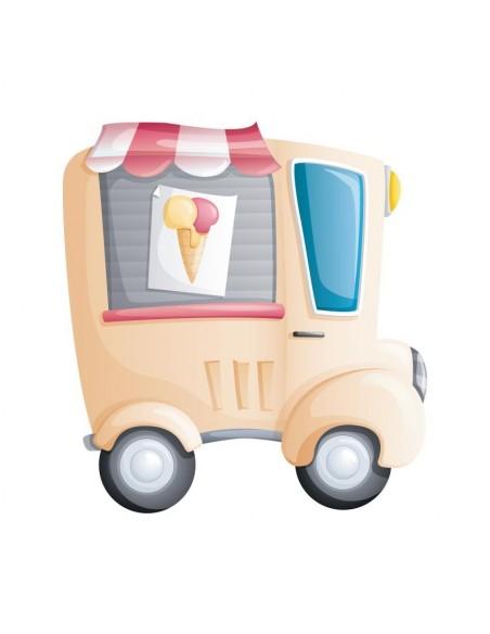Stickers Voiture & Transports,Sticker Camion de Marchand de
