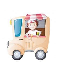 Stickers Voiture & Transports,Sticker Transports: camion de