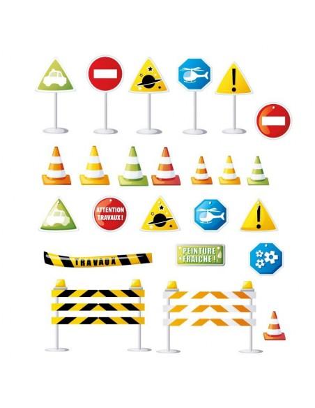 Stickers Voiture & Transports,Sticker Transports: Frise Panneaux