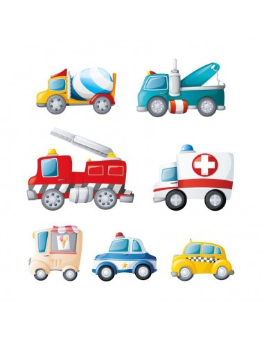 Stickers Voiture & Transports,Sticker Transports: Frise