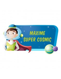 Stickers Prénom,Sticker Prénom: Super Cosmic