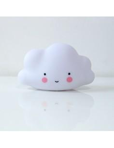 Veilleuse enfant : nuage blanc