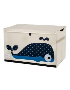 Boîtes & Paniers de rangement,Coffre à Jouets Baleine