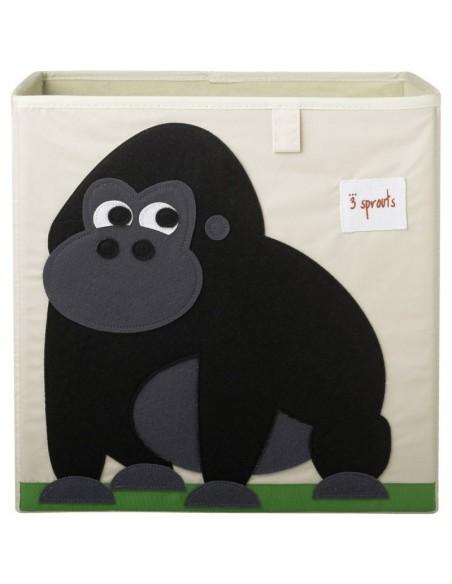 Boîtes & Paniers de rangement,Cube de Rangement Gorille