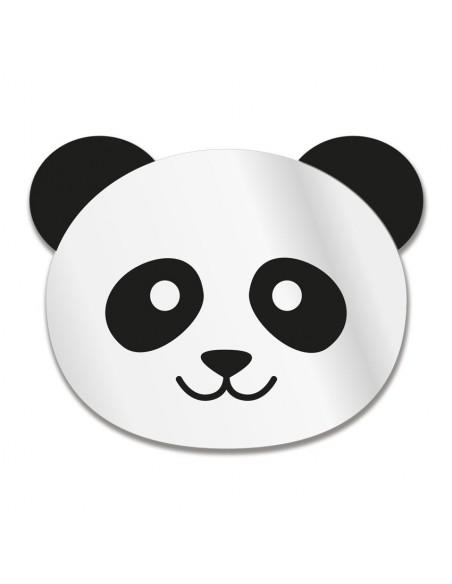 Miroir enfant,Miroir Enfant: Tête Panda