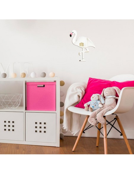 Miroir enfant,Miroir: Flamant rose
