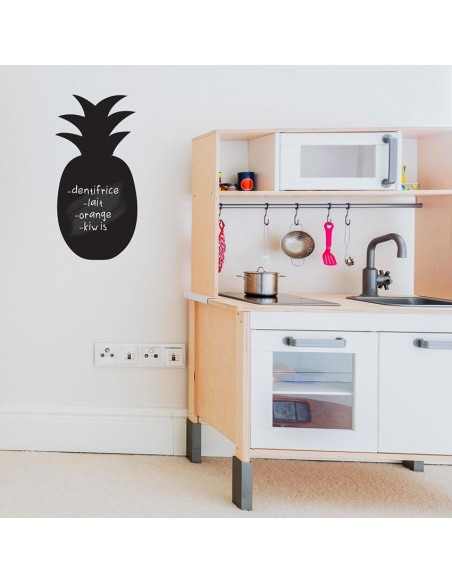 Sticker Ardoise,Sticker Ardoise: Ananas