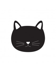 Sticker Ardoise,Sticker Ardoise: Chat