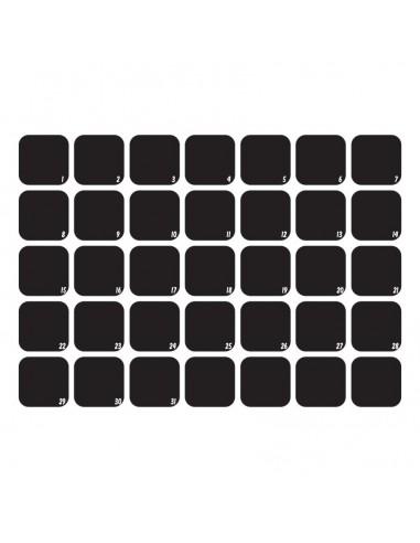 Sticker Ardoise,Sticker Ardoise: Planning