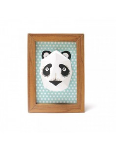 Trophées Animaux,Mini Trophée Carton Panda