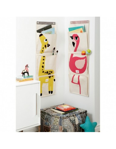 Boîtes & Paniers de rangement,Vide Poche Mural Girafe