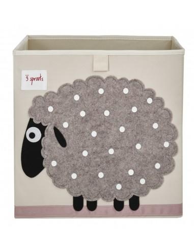 Boîtes & Paniers de rangement,Cube de Rangement Mouton