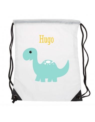 Sacs personnalisés,Sac enfant prénom: Dinosaure