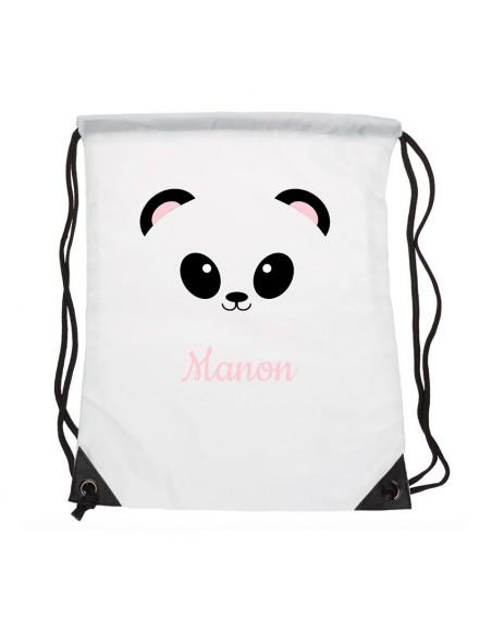 Sacs personnalisés,Sac enfant prénom: Panda