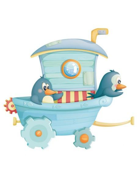 Stickers Cirque,Sticker Cirque: Pingouins