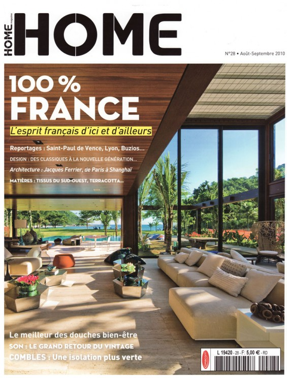 Home Magazine aout 2010