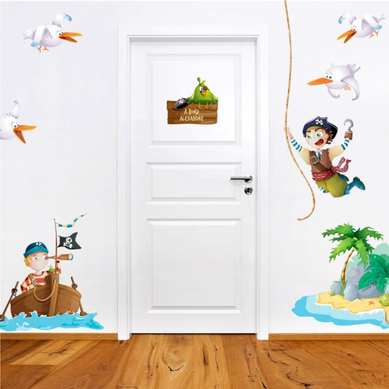 chambre enfant pirate KMIEP