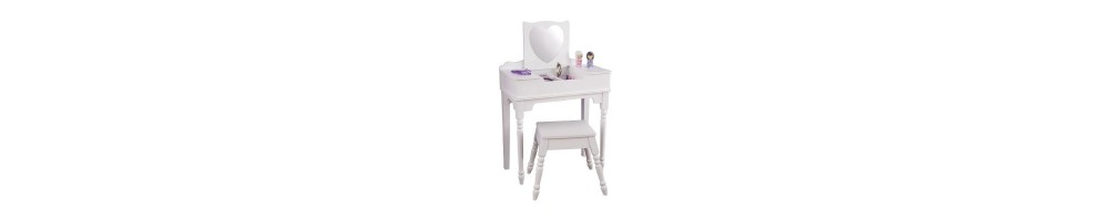coiffeuse enfant coiffeuse fille coiffeuse pour. Black Bedroom Furniture Sets. Home Design Ideas