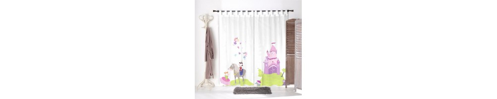 voilage chambre fille voilage fille deco enfant decoloopio. Black Bedroom Furniture Sets. Home Design Ideas