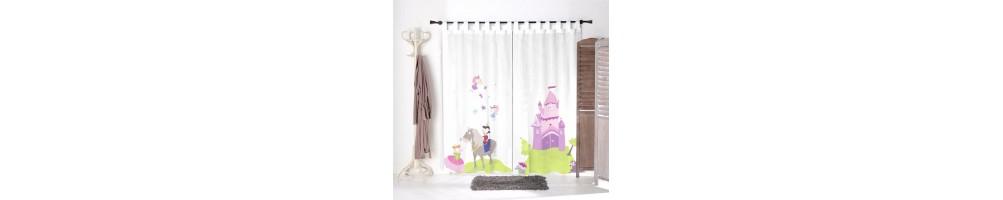 voilage chambre fille voilage fille deco enfant decoloopio. Black Bedroom Furniture Sets. Home Design Ideas