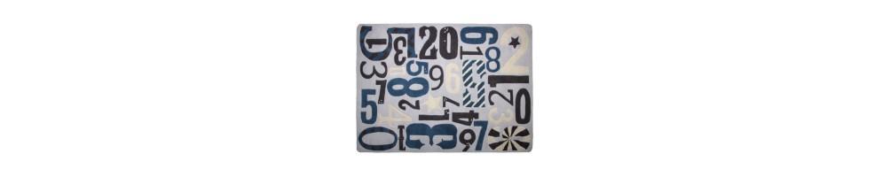 Tapis chiffres & lettres